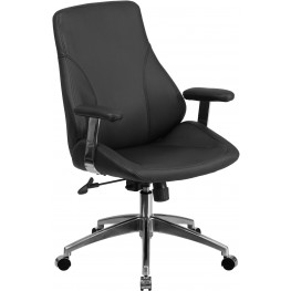 31846 Black Executive Swivel Office Chair