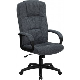 High Back Gray Executive Office Chair