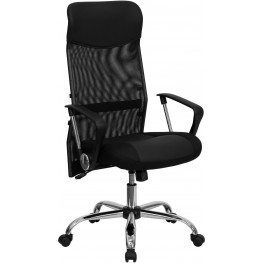 High Back Black Split Chair With Back (Min Order Qty Required)