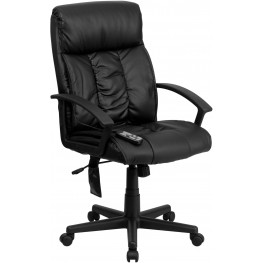 Tall Massaging Black Executive Office Chair (Min Order Qty Required)