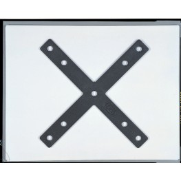 ProPanel Light Grey X Connector