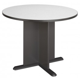 Series A Slate 42 Inch Round Conference Table