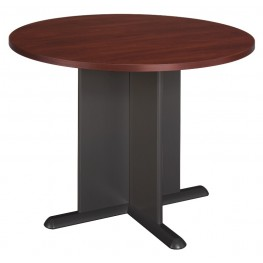 Series A Hansen Cherry 42 Inch Round Conference Table