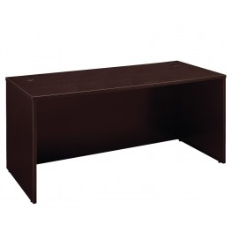 Series C Mocha Cherry 66 Inch Desk Shell
