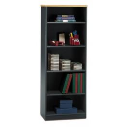Series A Beech 26 Inch 5-Shelf Bookcase