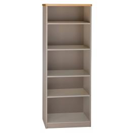 Series A Light Oak 26 Inch 5-Shelf Bookcase