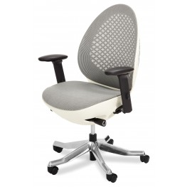 Linq Mid Snowy Swivel Chair