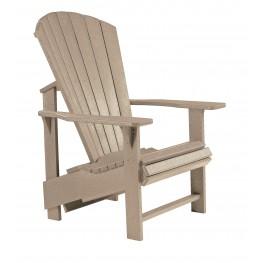 Generations Beige Upright Adirondack Chair