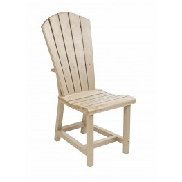 Generations Beige Adirondack Dining Side Chair