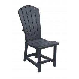 Generations Black Adirondack Dining Side Chair
