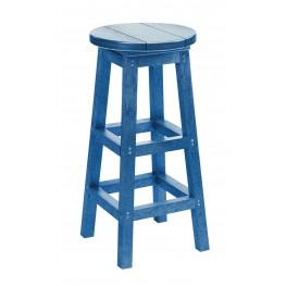 Generation Blue Swivel Bar Stool