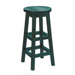 Generation Green Swivel Bar Stool