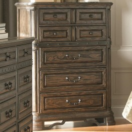 Carlsbad Dark Brown 7 Drawer Chest