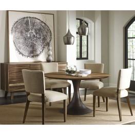 Casablanca Walnut Round Dining Room Set