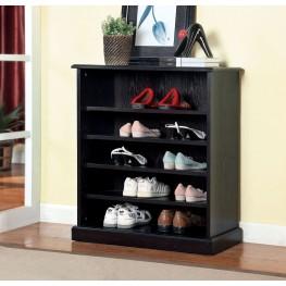 Dotta Espresso Shoe Cabinet