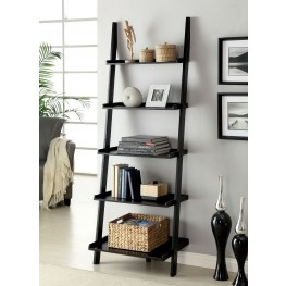 Sion Black Ladder Shelf