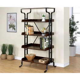"""Galvin Antique Oak 30"""" Book Shelf"""