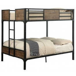 Clapton Full Over Full Metal Bunk Bed