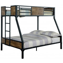Clapton Twin Over Full Metal Bunk Bed