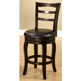 "Southland Espresso 24"" Swivel Bar Stool"