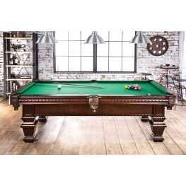 Montemor Cherry Pool Table Set