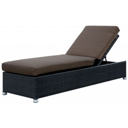 Albee Patio Brown Outdoor Chaise