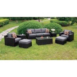 Helina Gray 8 Piece Patio Sofa Set