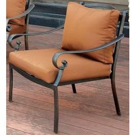 Bonquesha I Distressed Black Arm Chair