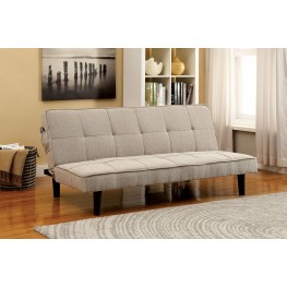 Denny Beige Futon Sofa