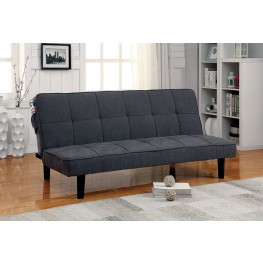Denny Gray Futon Sofa