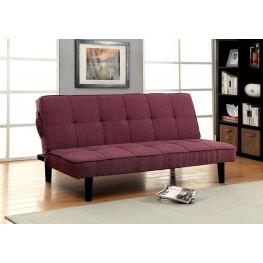 Denny Purple Futon Sofa