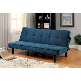 Denny Dark Teal Futon Sofa