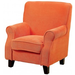 Greta Orange Kids Chair