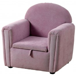 Ginny Purple Kids Chair