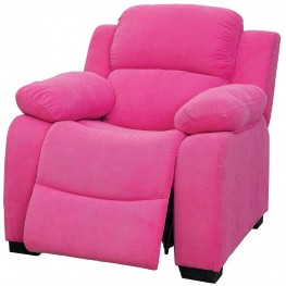Connie Pink Kids Recliner