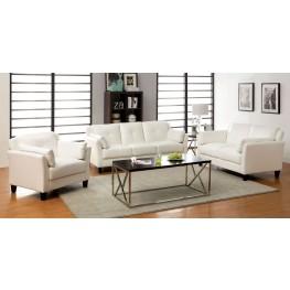 Pierre White Living Room Set