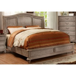 Belgrade II Rustic Natural Tone Cal. King Bed