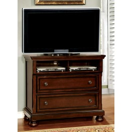 Northville Dark Cherry Media Chest