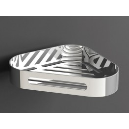 S5 Wire Basket Corner Polished Stainless Steel