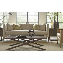 Crawford Sepia X Base Occasional Table set