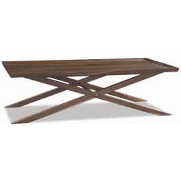 Crawford Sepia X Base Coffee Table