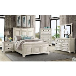 Addison White Panel Bedroom Set From Elements Furniture Coleman Furniture
