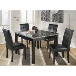 Astounding Maysville 5 Piece Square Counter Height Dining Room Set Interior Design Ideas Clesiryabchikinfo