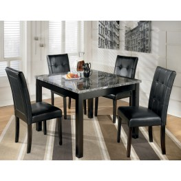 Maysville 5 Piece Square Dining Room Table Set