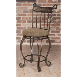 "Beau 24"" Swivel Counter Stool"