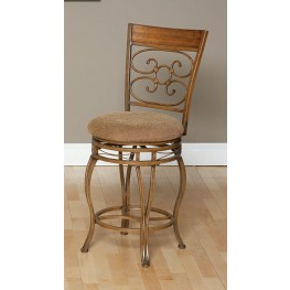 "Ellen 24"" Swivel Counter Stool"