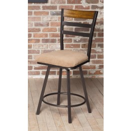 "Tempo 24"" Swivel Counter Stool"