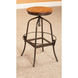 Abbey Adjustable Swivel Bar Stool