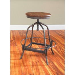 Abbey Adjustable Swivel Counter Stool