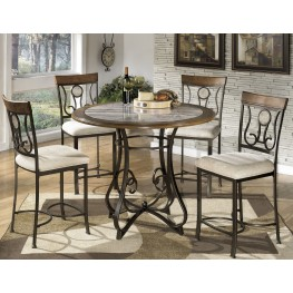 Hopstand Round Counter Height Dining Room Set